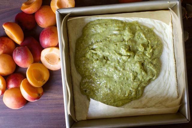 pistachio paste filling