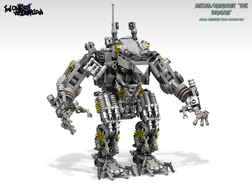 "LEGO Mecha/Hardsuit ""The Dragon"""