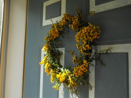 tansy wreath