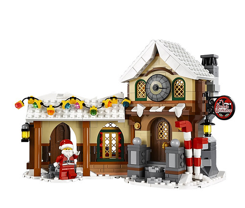 LEGO 10245 Santa's Workshop 08
