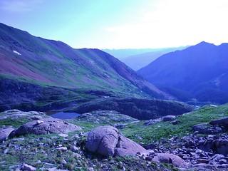 Upper Bilk Basin Lake From SW