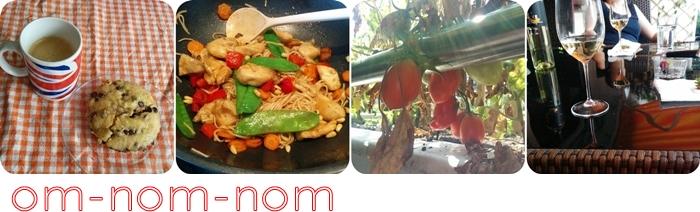 Kaffee | Asiatisch aus dem Wok | Tomaten | Erdbeeren & Wein