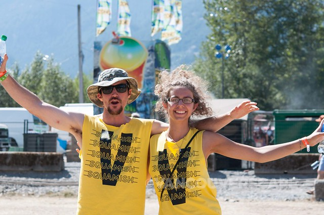 2014 Squamish Valley Music Fest volunteers