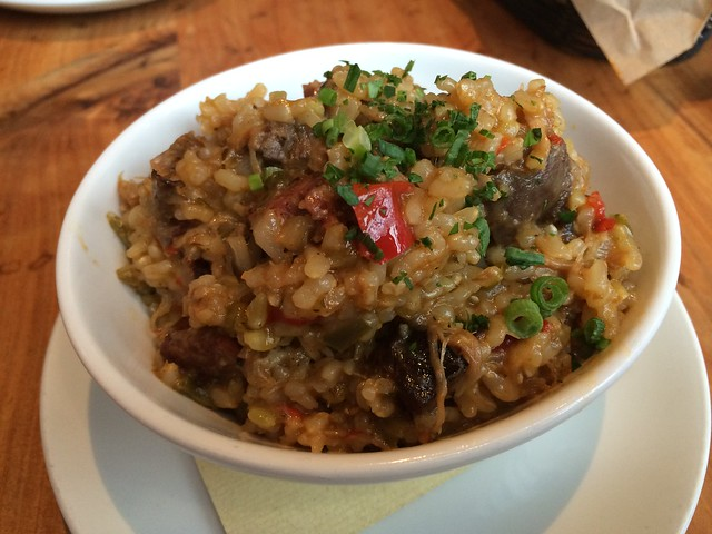 Duck and sausage jambalaya - Boxing Room