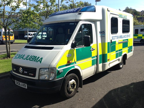 VW LT46 Ambulance