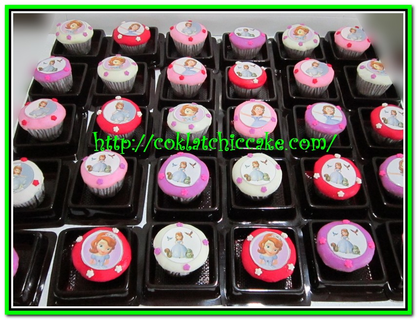 Minicupcake sofia the first