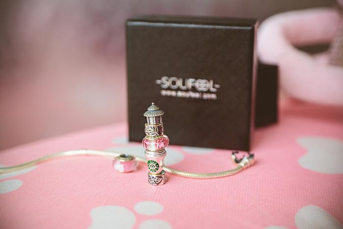 Olga choi fashion blogger myblondegal  Korea Soufeel charm bracelet 925 silver-00260
