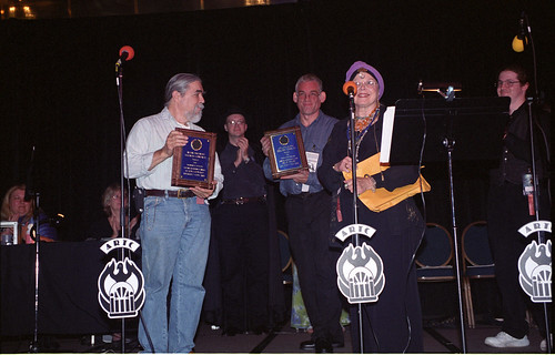 Alton Leonard and Brad Weage accept the Thomas E. Fuller Lifetime Achievement Award