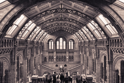 building london museum sepia darwin