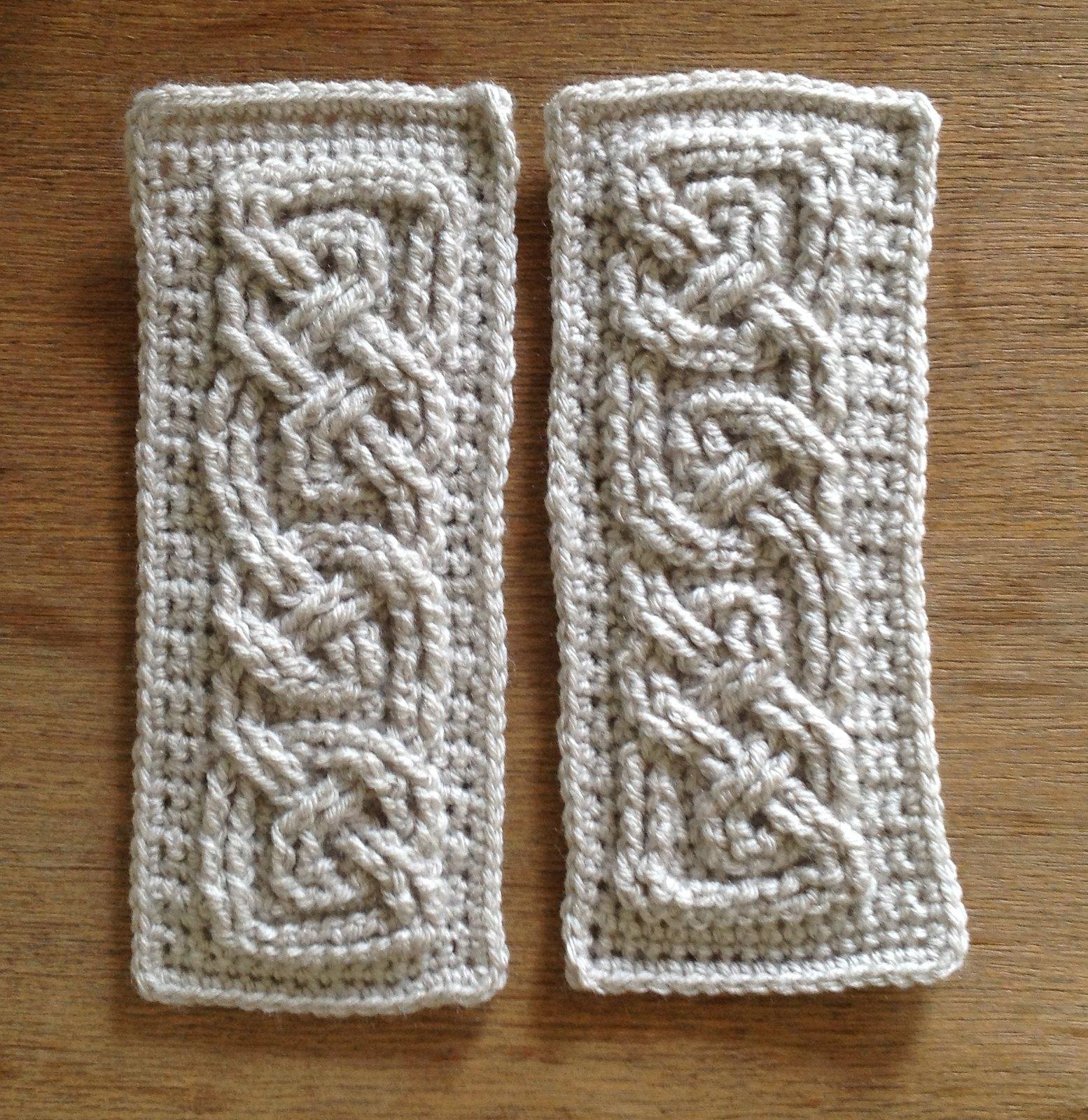 Suvi\'s Crochet: Book of Kells - Small Celtic Cables