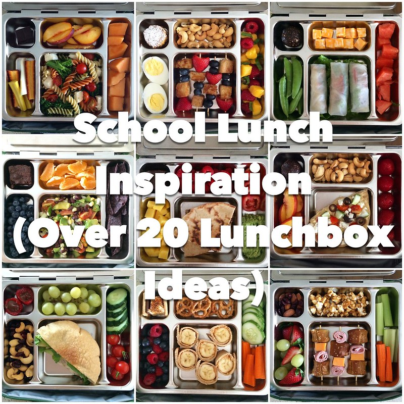 School Lunch Inspiration – Over 20 Lunchbox Ideas