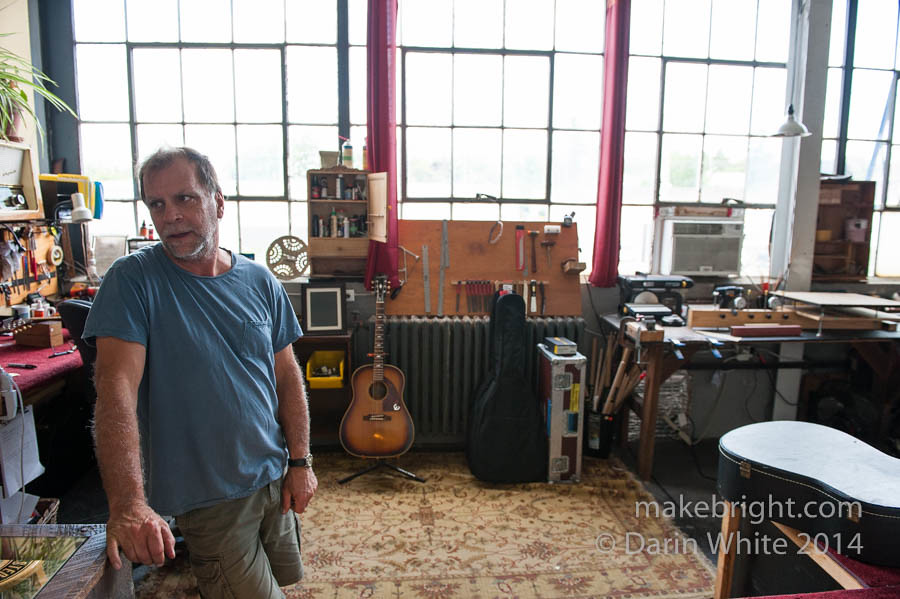 Bob Egan shop visit 018