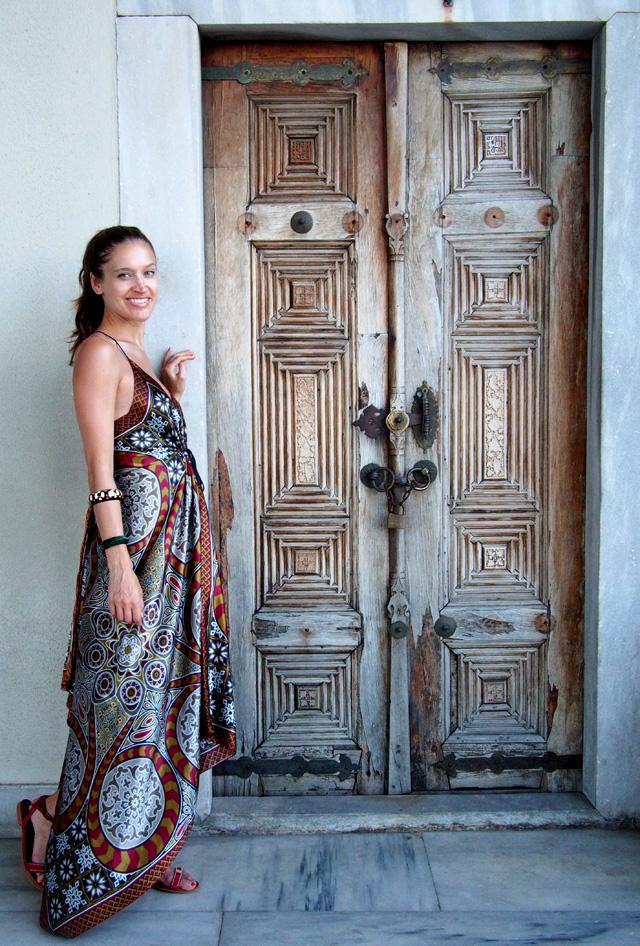 travel style maxi dress topkapi palace istanbul 4