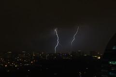Lightning over Bukit Damansara
