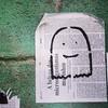 I see dead people #streetart #wheatpaste #Sampa