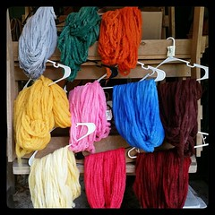 Dry faster! Dry faster! #handdyedroving #pencilroving #bluefacedleicester