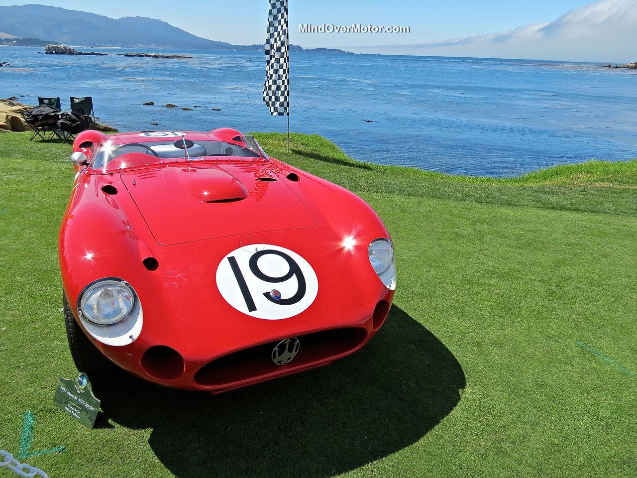 Pebble Beach 2014-Maserati 450S