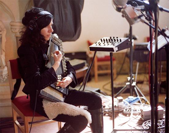 PJ Harvey disco grabacion