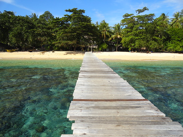 The Pier at Coral Eye, Pulau Bangka