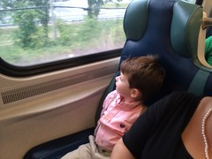 First time on a train