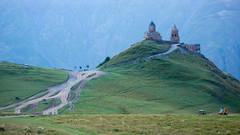 Klasztor Gergeti ponad Stepancminda.