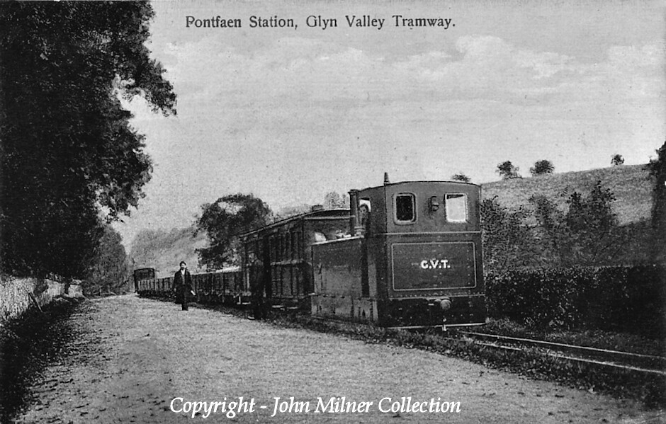 The Glyn Valley Tramway. Copyright - John Milner Collection