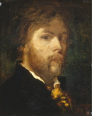 poster(0.0), art(1.0), painting(1.0), drawing(1.0), self-portrait(1.0), portrait(1.0), modern art(1.0),