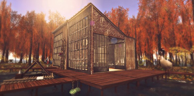 Working On an Autumn Lakehouse
