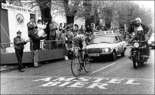 Amstel '85 - L'arrivo solitario di Knetemann