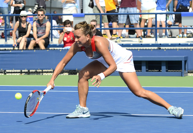 2014 US Open (Tennis) - Tournament - Barbora Zahlavova Strycova