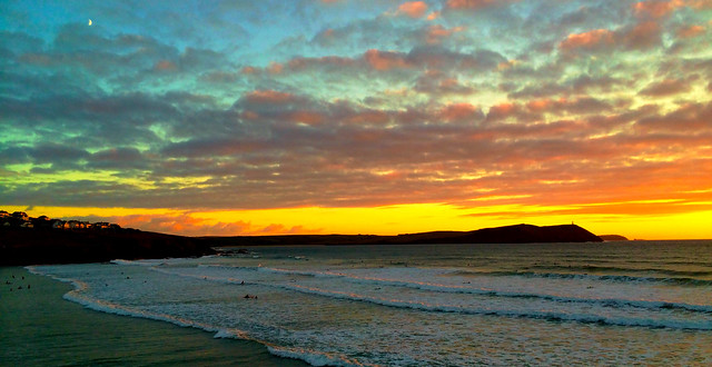 Polzeath Seascape photo
