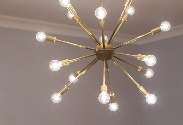 affordable sputnik chandelier