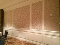 floor, furniture, wall, wood, room, molding, ceiling, interior design, wallpaper, flooring,