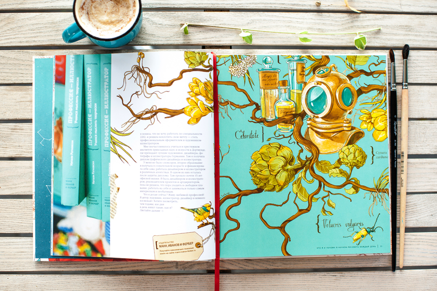 "My third book ""Draw everyday"""