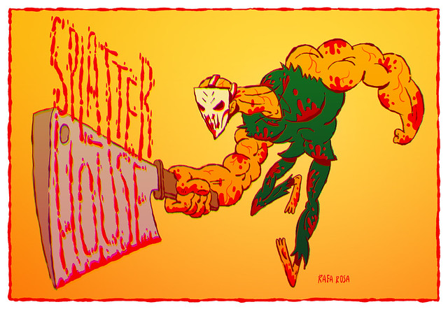 Splatterhouse - A BIT of ART: A homage to 8 & 16- Bit Games