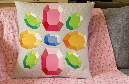 The Gemstone Pillow: English Paper Piecing PDF Pattern