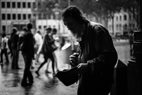 BEGGAR · COLOGNE · GERMANY