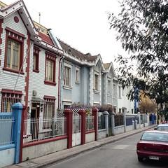 Calle Viña del Mar, entre Vicuña Mackenna y el Parque Bustamante #Santiago #latergram
