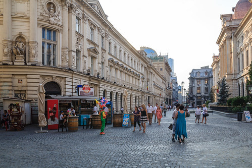 Bucharest, Old Town, 2014 by Daniel Mihai