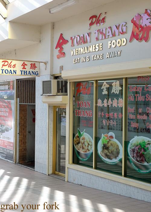 Pho Toan Thang Vietnamese restaurant at Flemington