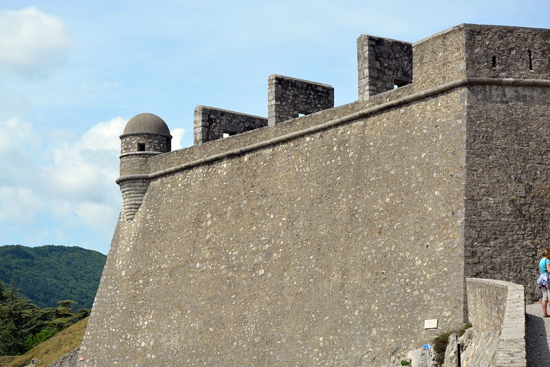 Murallas del Castillo de Sisteron