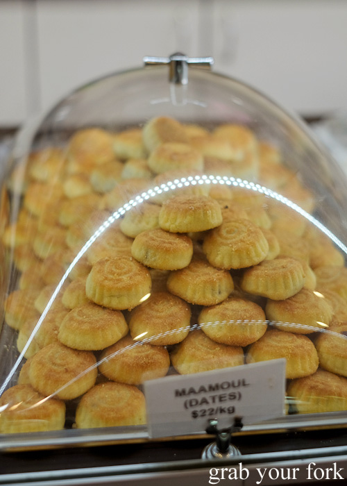 Maamoul with dates at La Galette Patisserie, Merrylands