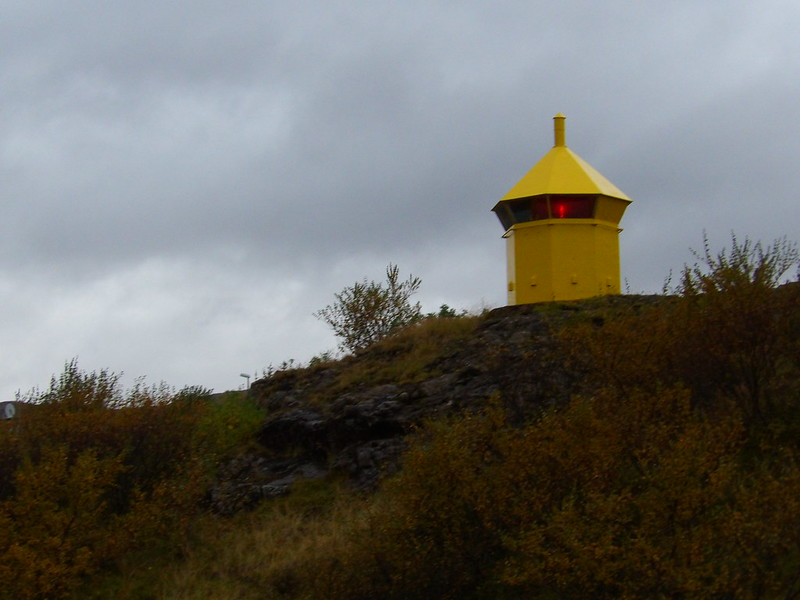 The lighthouse in Holmavik