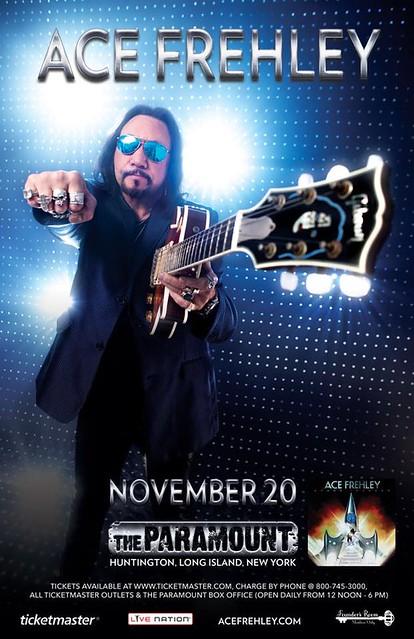 11/20/14 Ace Frehley @ The Paramount, Huntington, LI, NY