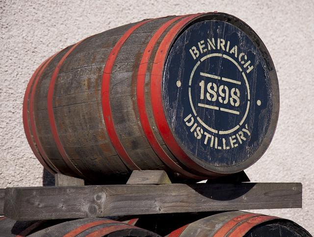 Benriach Distillery Cask