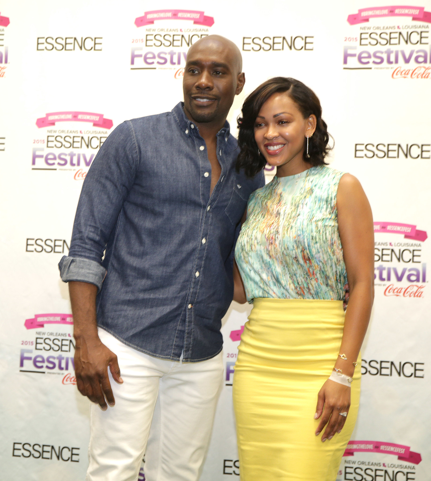 Meagan Good and (Morris Chestnut) discuss her new FOX show ...