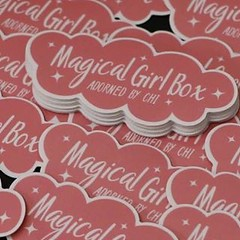 Magical Girl Box  Adorned by Chi  Have our team help you with your project today! Support@vinyldisorder.com - - www.vinyldisorder.com . . . #design #custom #art #stickers #VinylDisorder #vinylstickers #customstickers #vinylstickers #vinyl #vinylslaps #cus
