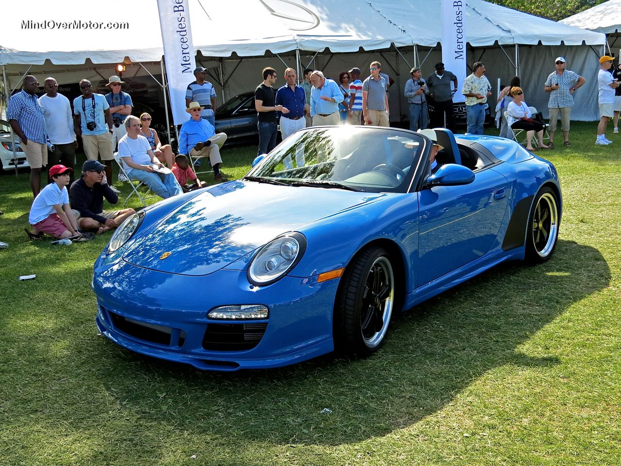 Porsche 997 Speedster at the Greenwich Concours