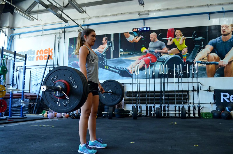 foto de Belén en CrossFit Wroclaw