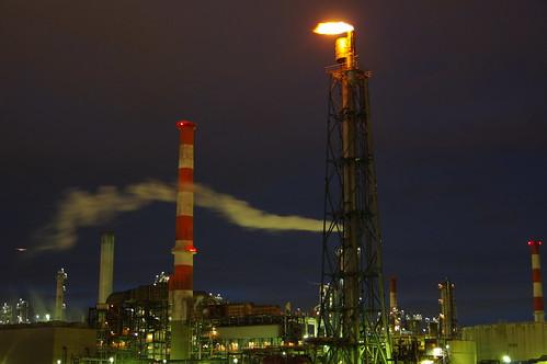 Nightscape at Kawasaki Industrial Zone 04